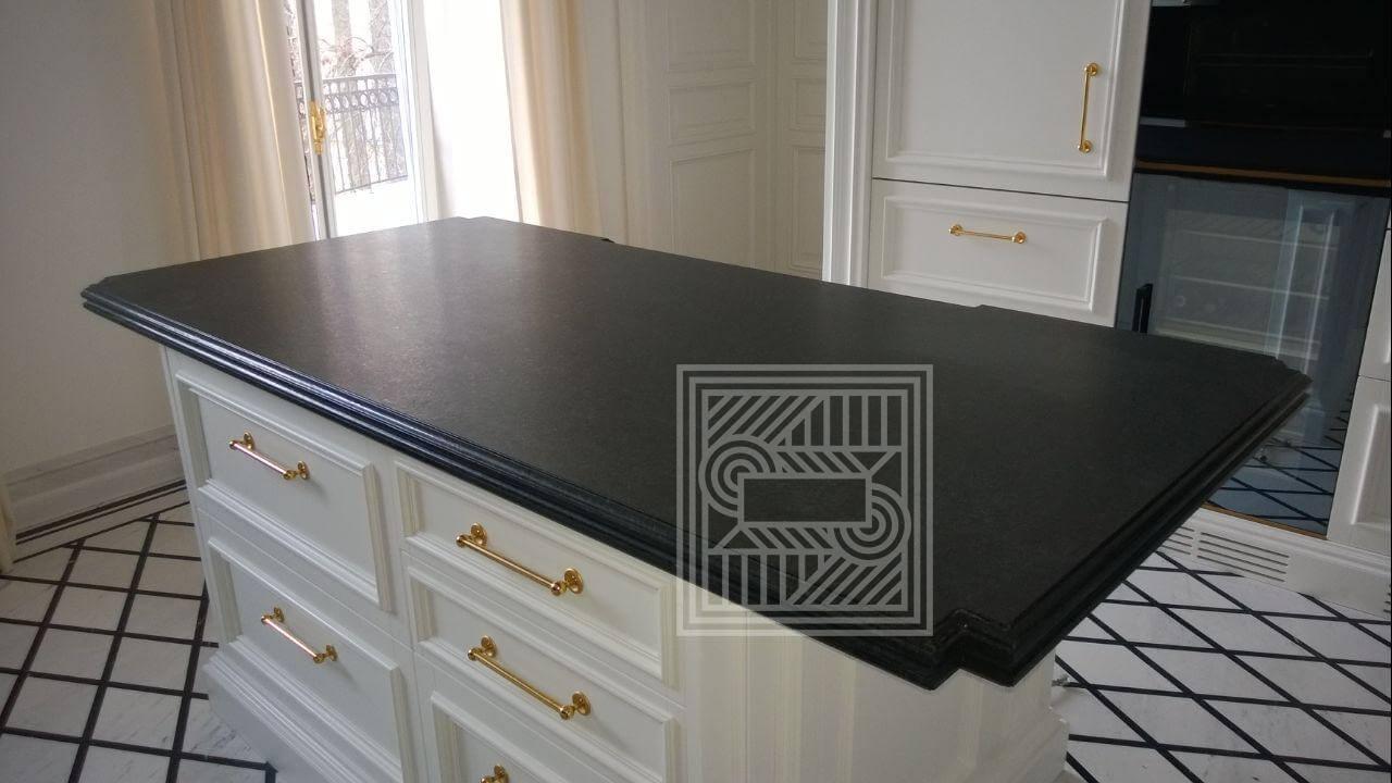 Столешница из гранита Cembrian Black worktop-granite - Cembrian Black 2020 2