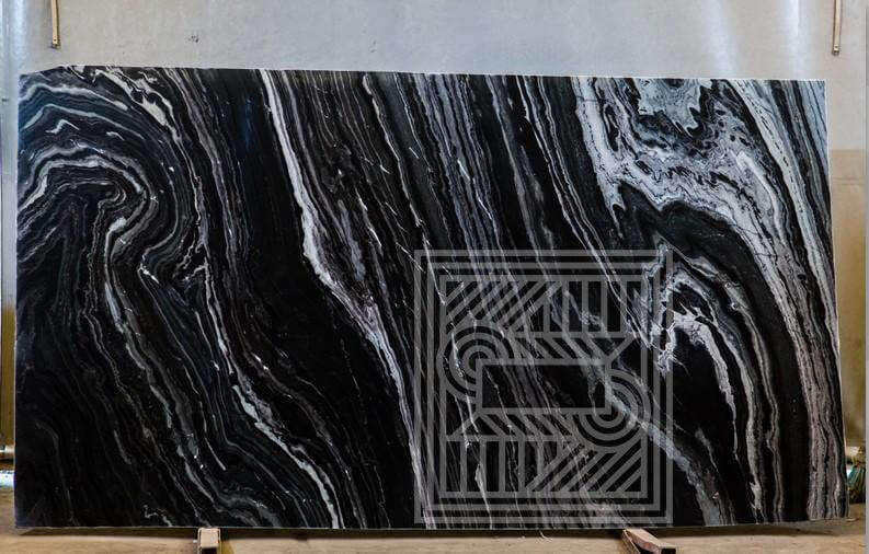 Nero Kenia (bookmatched) (20 mm) black-marble - Nero Kenia bookmatched 20 mm