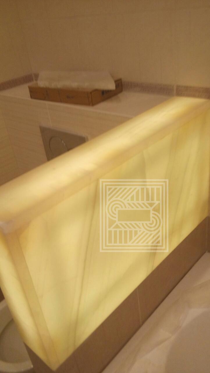 Мини перегородка из Onice Shifon с подсветкой furniture - image 0.02.01.cea02988c5d8441868f5f63ea48f8c2e08e453795371d7eec44468528bea858c V