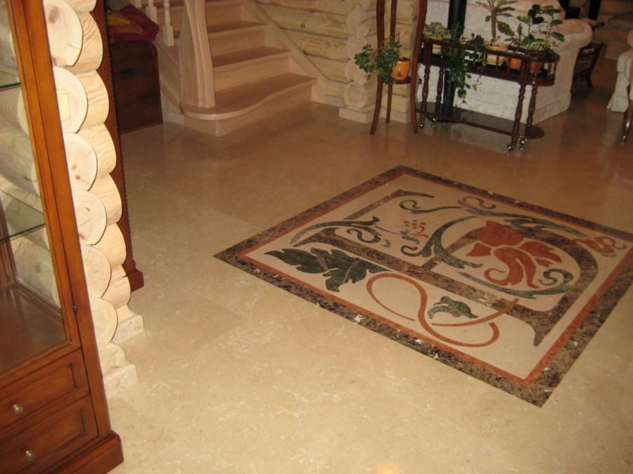 Панно из натурального камня на пол panel - panno iz kamnya 2