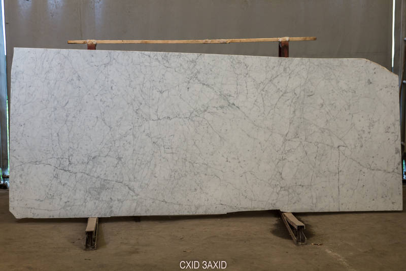 Bianco Carrara (bookmatched) (20 mm) light-marble - Bianco Carrara bookmatched 20 mm