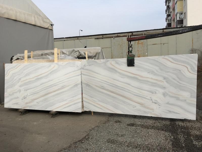 Bianco Lasa Fantastico (20 mm) light-marble - Bianco Lasa Fantastico