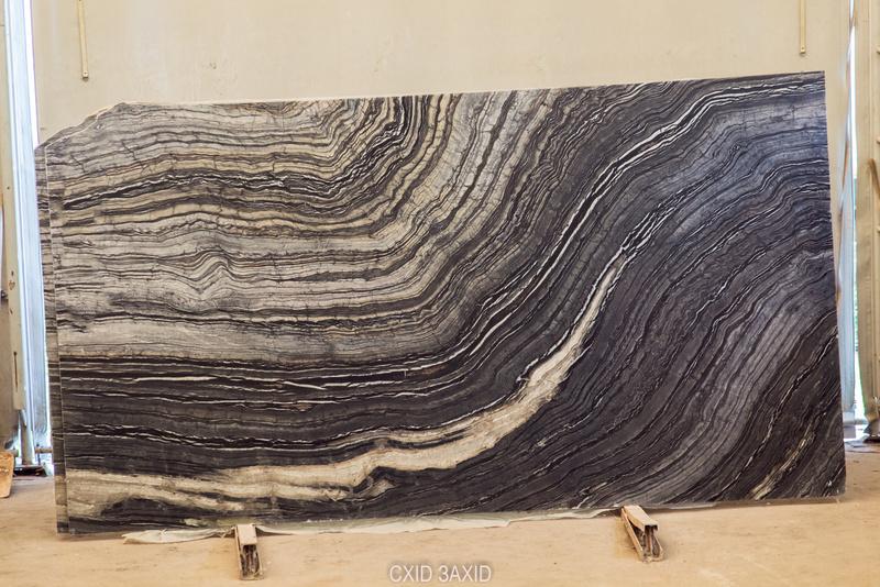 Black Wood (20 mm) colored-marble - Black Wood 20 mm 1