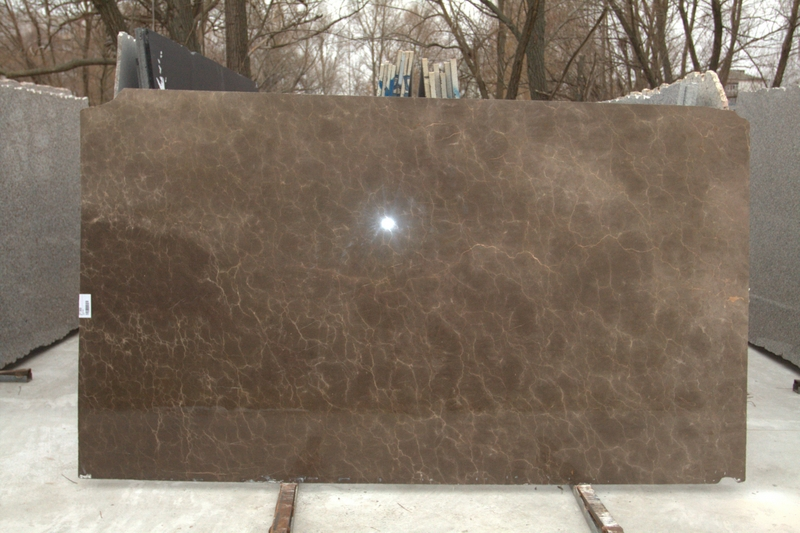 Bronze Brown (20 mm) colored-marble - Bronze Brown 20 mm 1