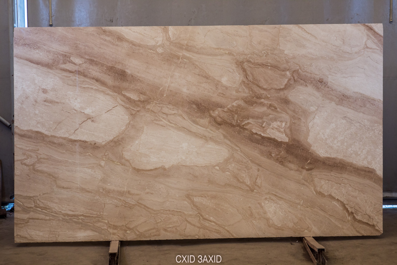 Daino (20 mm) beige-marble - Daino bookmatched 20 mm 1
