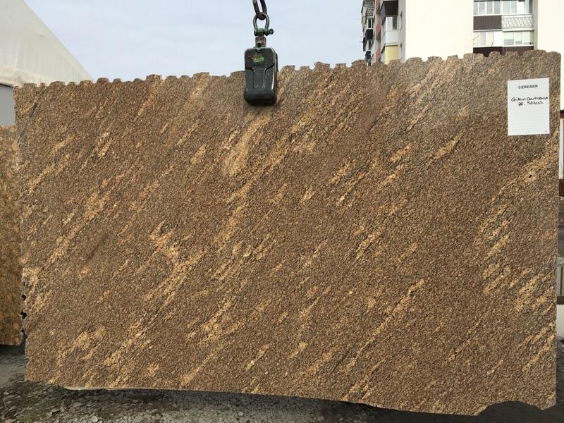 Giallo California (20 mm) granite - Giallo California 20 mm