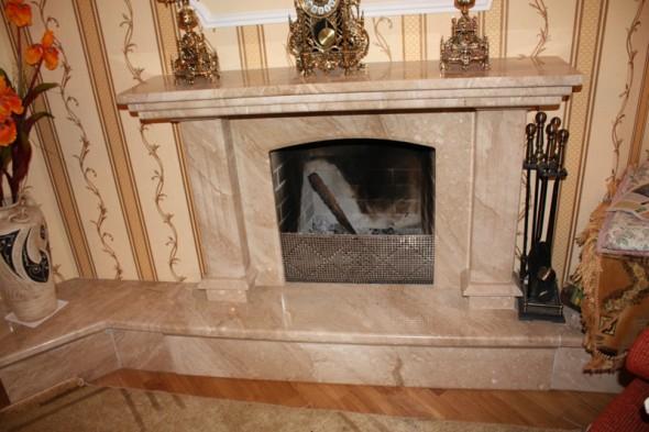 Камин из мрамора Daino fireplace-marble - LARGE 24 1