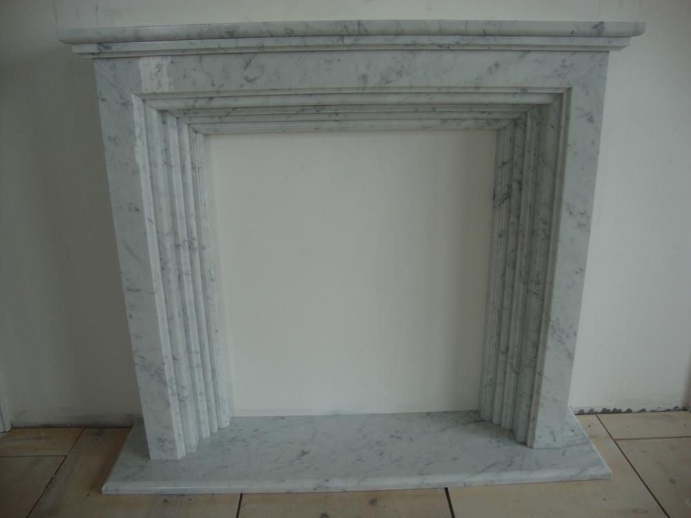 Камин из мрамора Bianco Carrara fireplace-marble - LARGE 29 1