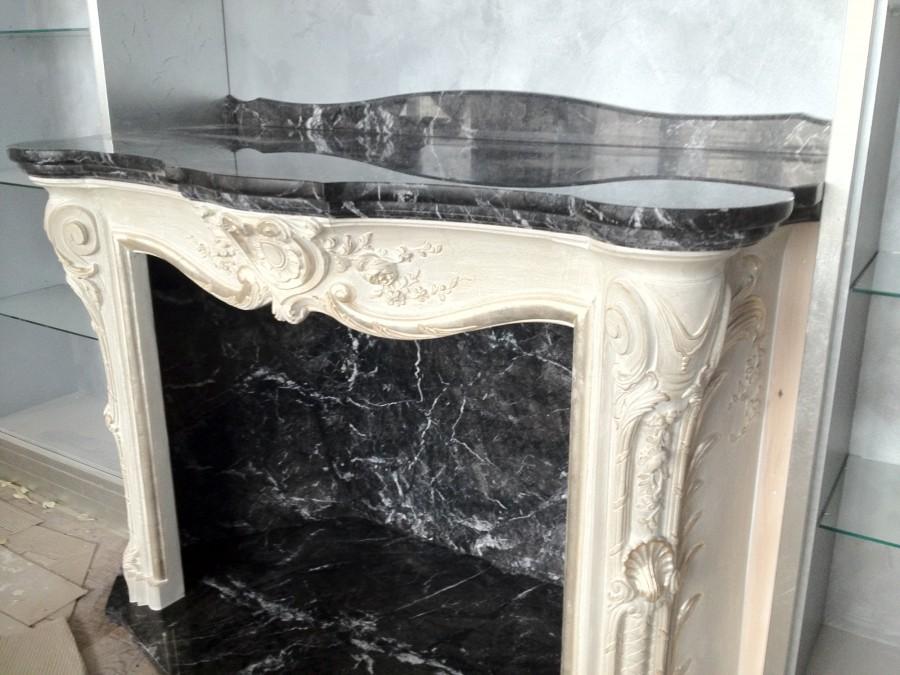 Камин из травертина fireplace-travertine - LARGE 5 1