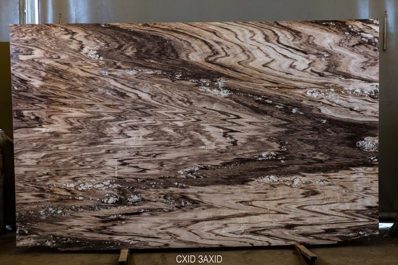 Palissandro Oniciato (bookmatched) (20 mm) colored-marble - Palissandro Oniciato bookmatched 20 mm 1