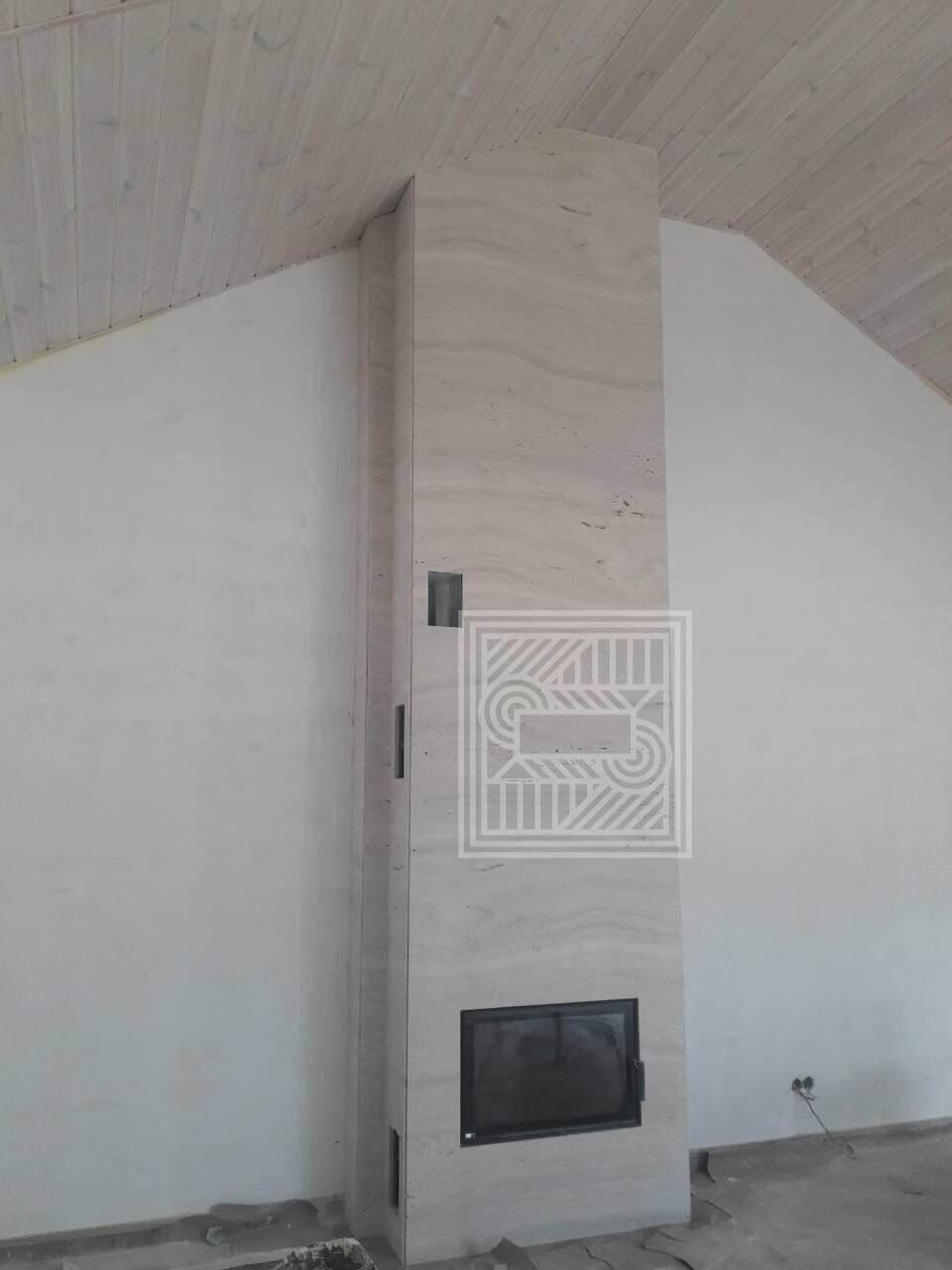 Камин из итальянского травертина. fireplace-travertine - 7