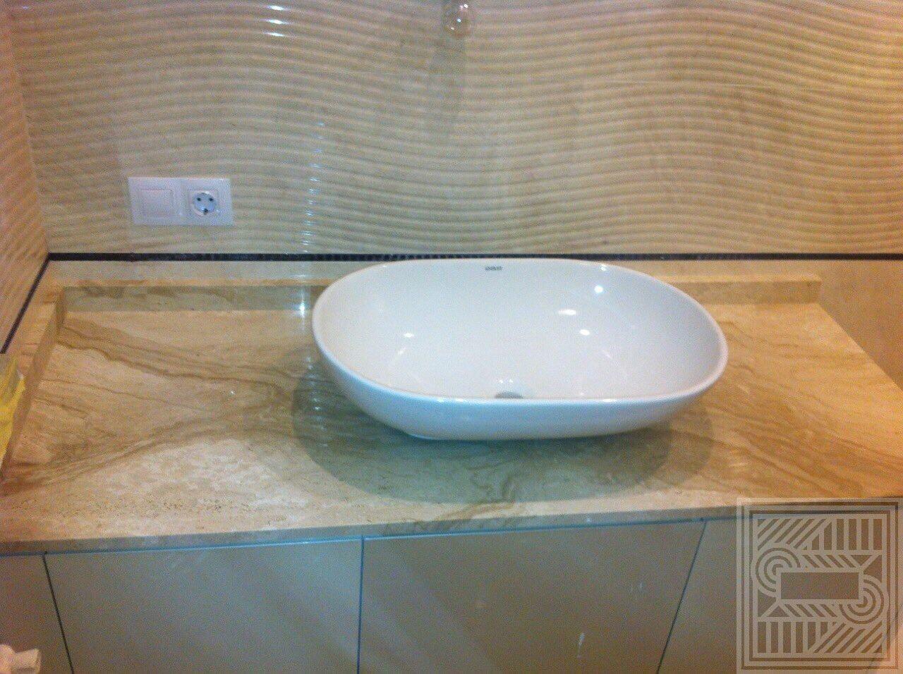 Столешница из мрамора Daino worktop-marble - IMG 5095