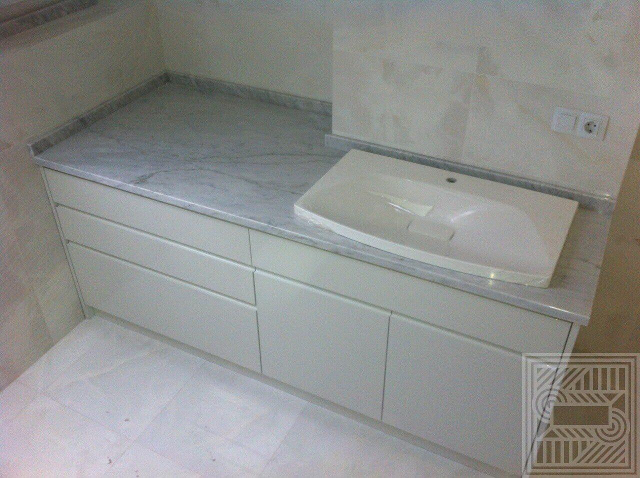Столешница из мрамора Carrara worktop-marble - IMG 5096