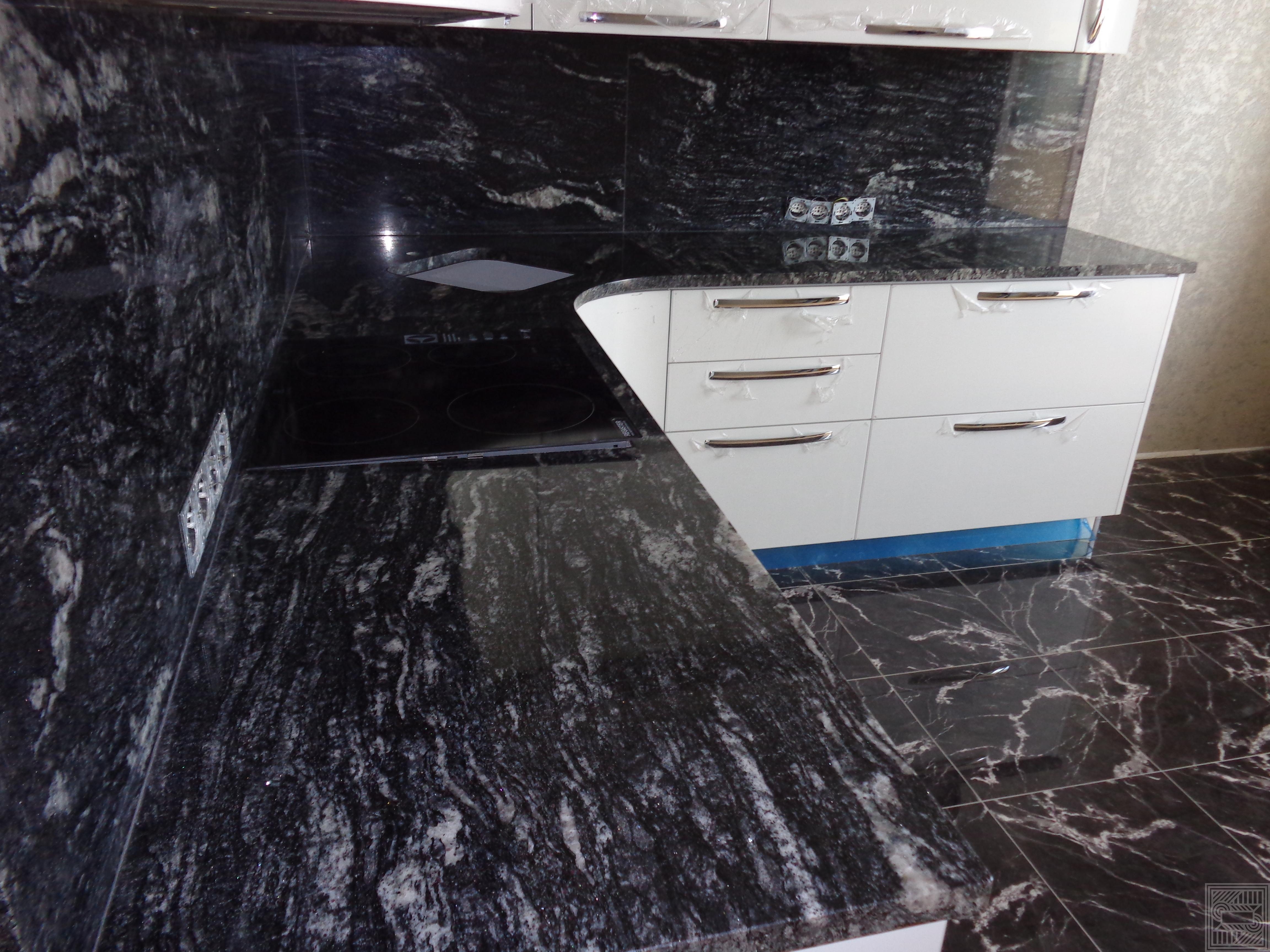 Столешница из гранита Black Cosmic 30 мм worktop-granite - DSC00264