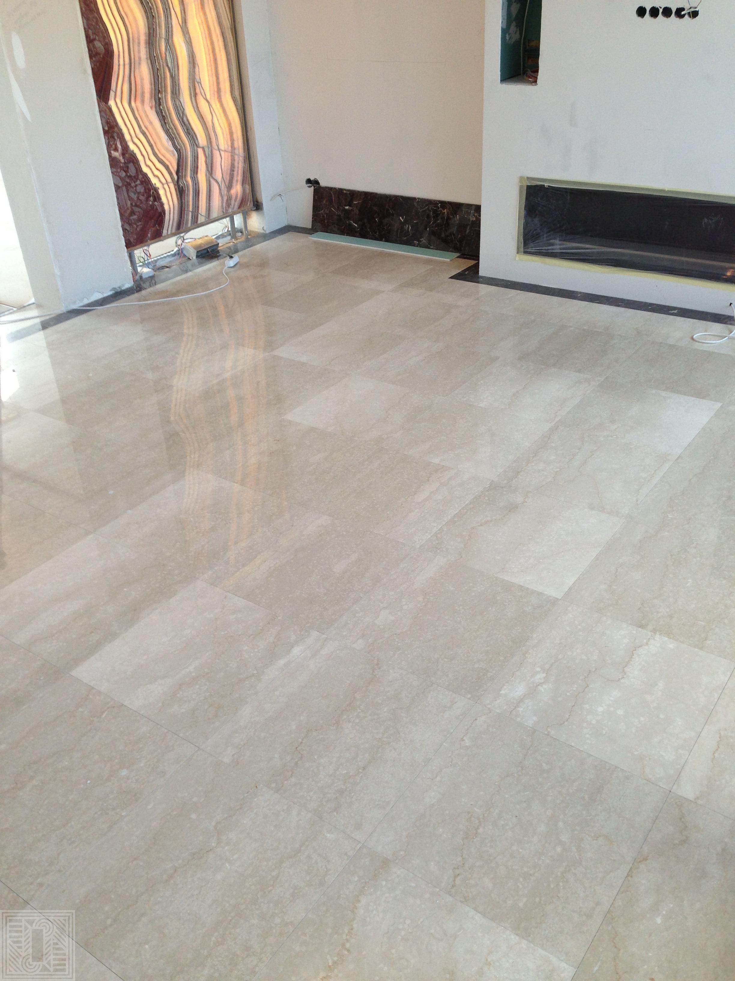 Пол из мраморной плитки Botticino Classico 600*300*20 tile-marble - Mramor Botticino Classico 60030020  e1541615211991