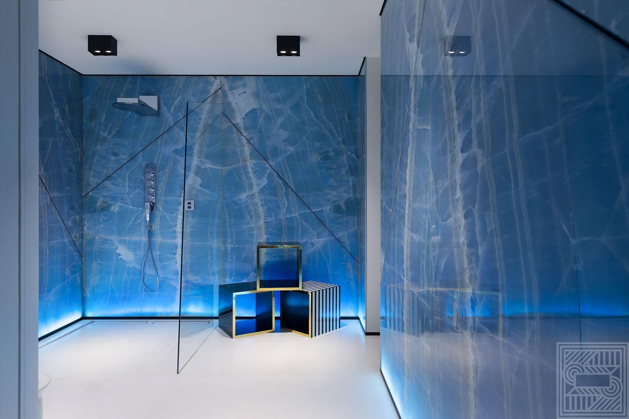 Стена облицованная Onice Blue Extra 20 мм walls - Onice Blue Extra