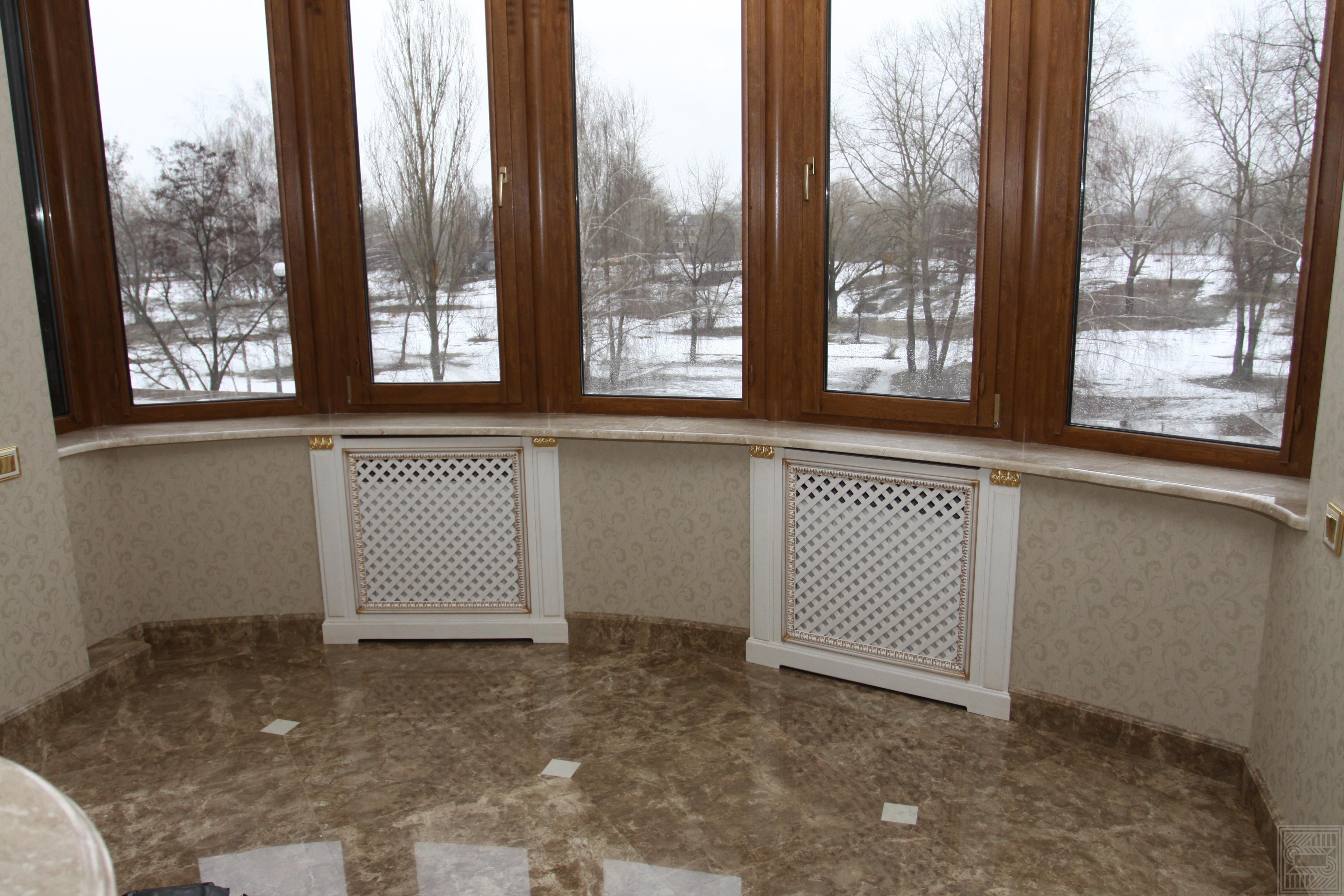 Подоконники  из мрамора Daino 30 мм windowsill-marble - Podokonnik iz mramoa Daino 30 mm