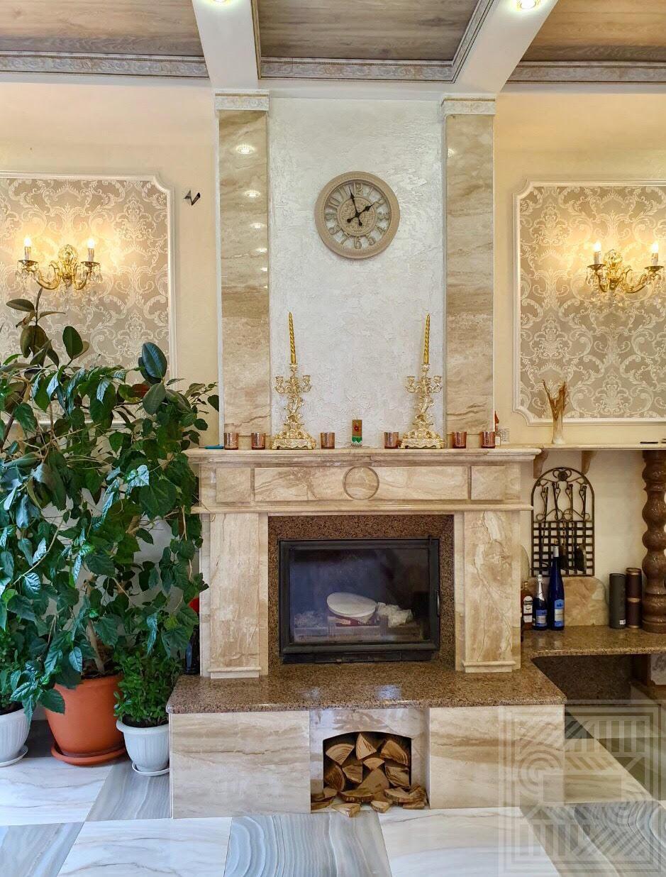 Камин из мрамора Daino. fireplace-marble - Kamin iz Daino