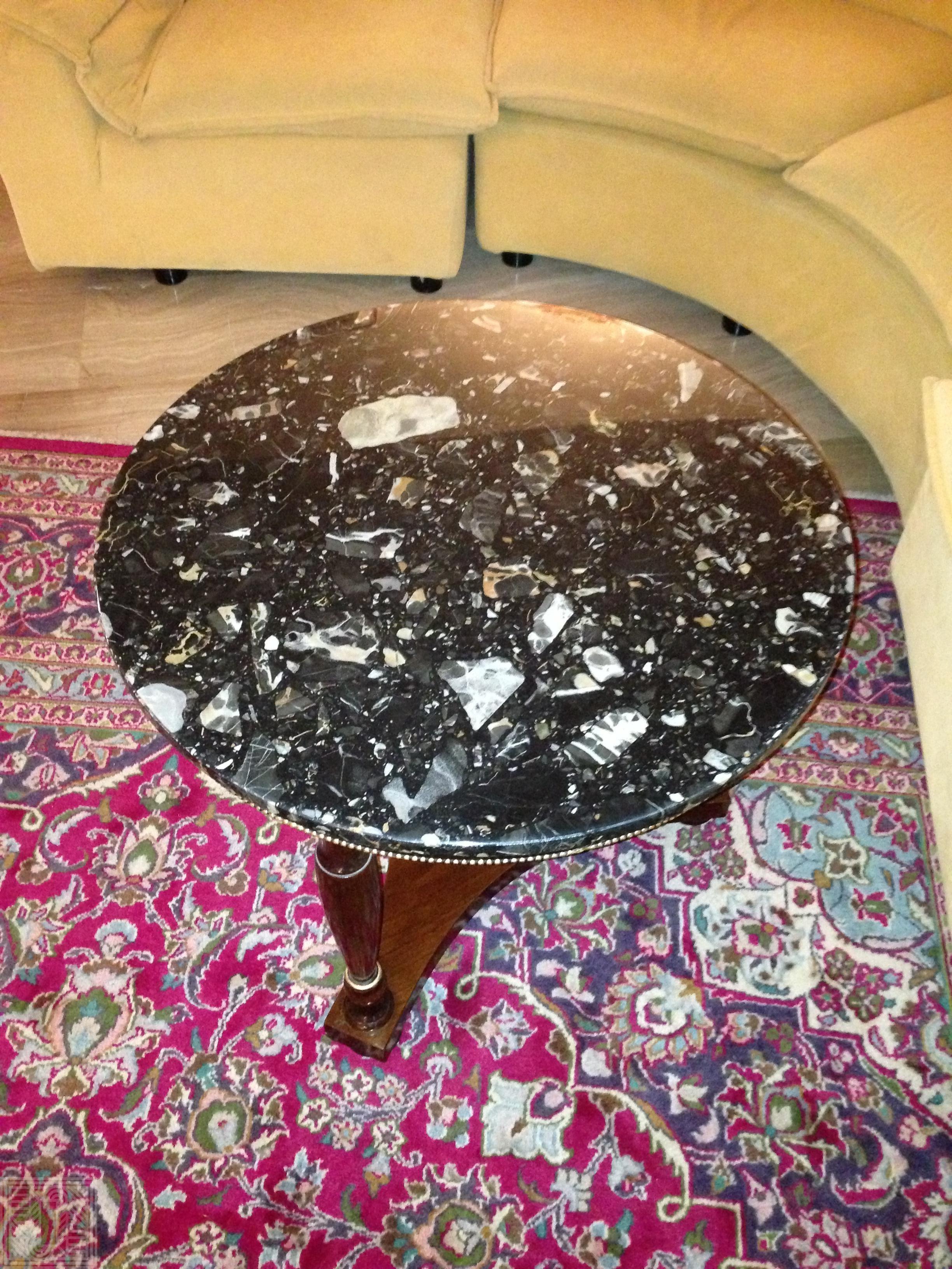 Столик с столешницей из агломерата desk, furniture - IMG 1365 e1563113857623