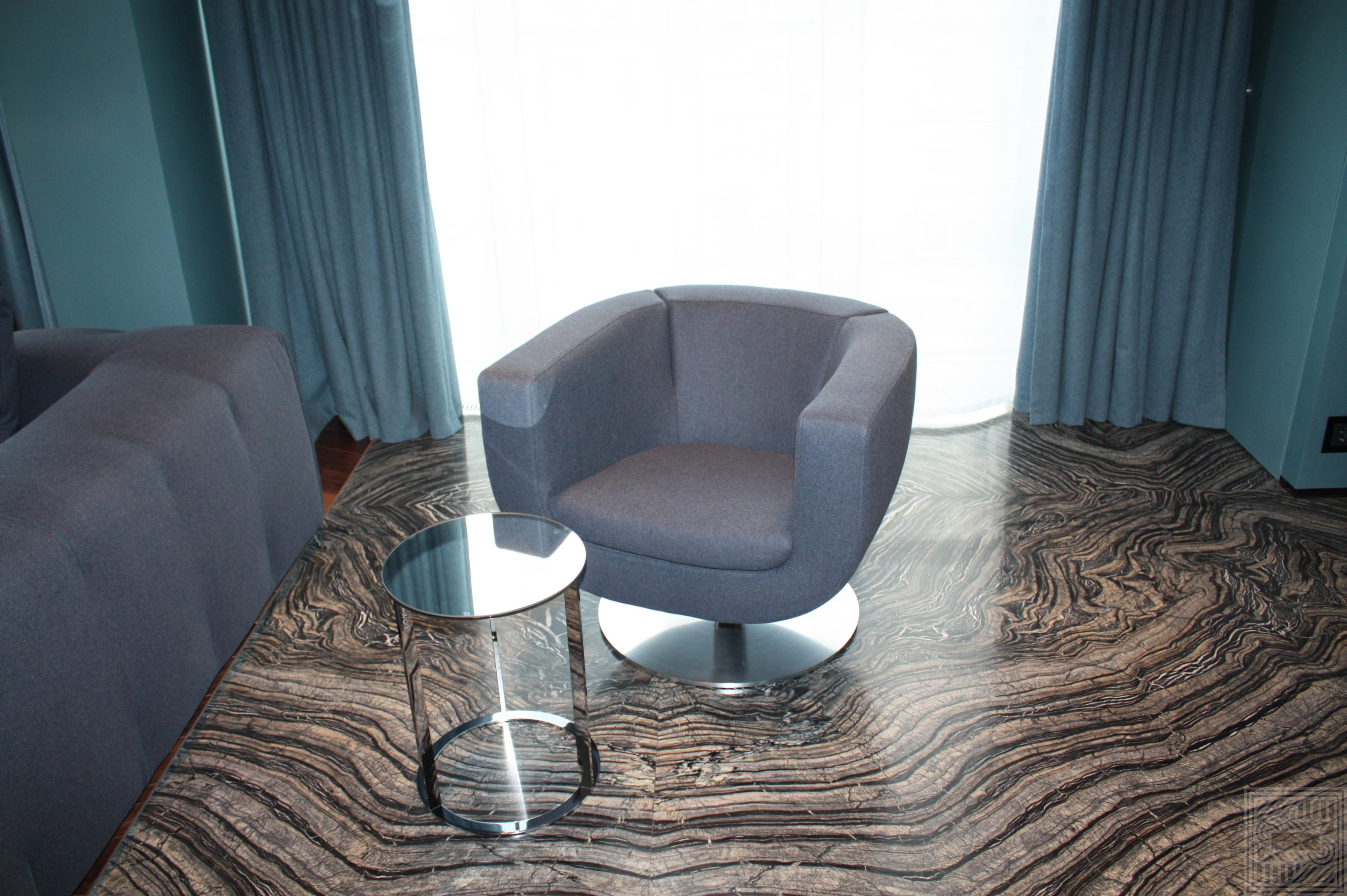 Пол из мрамора Black Wood floor-marble - IMG 9047