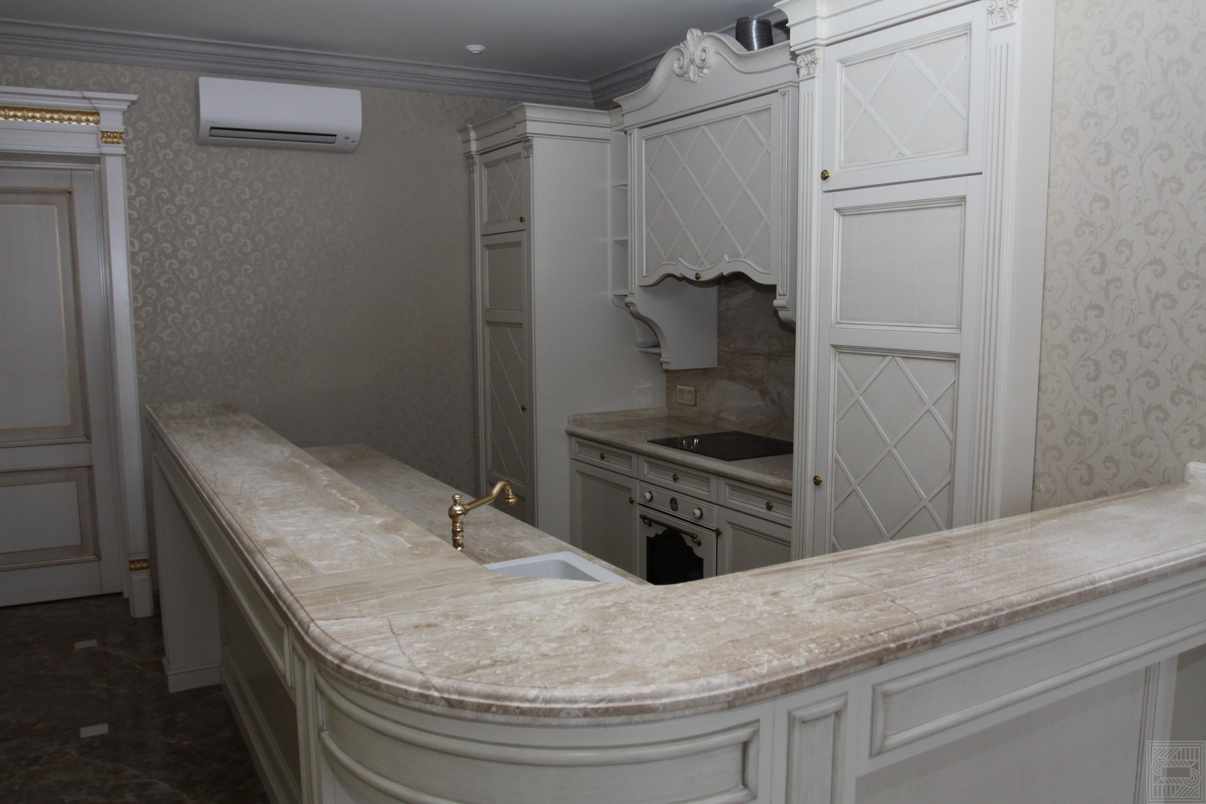 Кухонная рабочая поверхность из мрамора Daino 30 мм worktop-marble, furniture - Kuhonnaya rabochaya poverhnost iz mramora Daino 30 mm 3