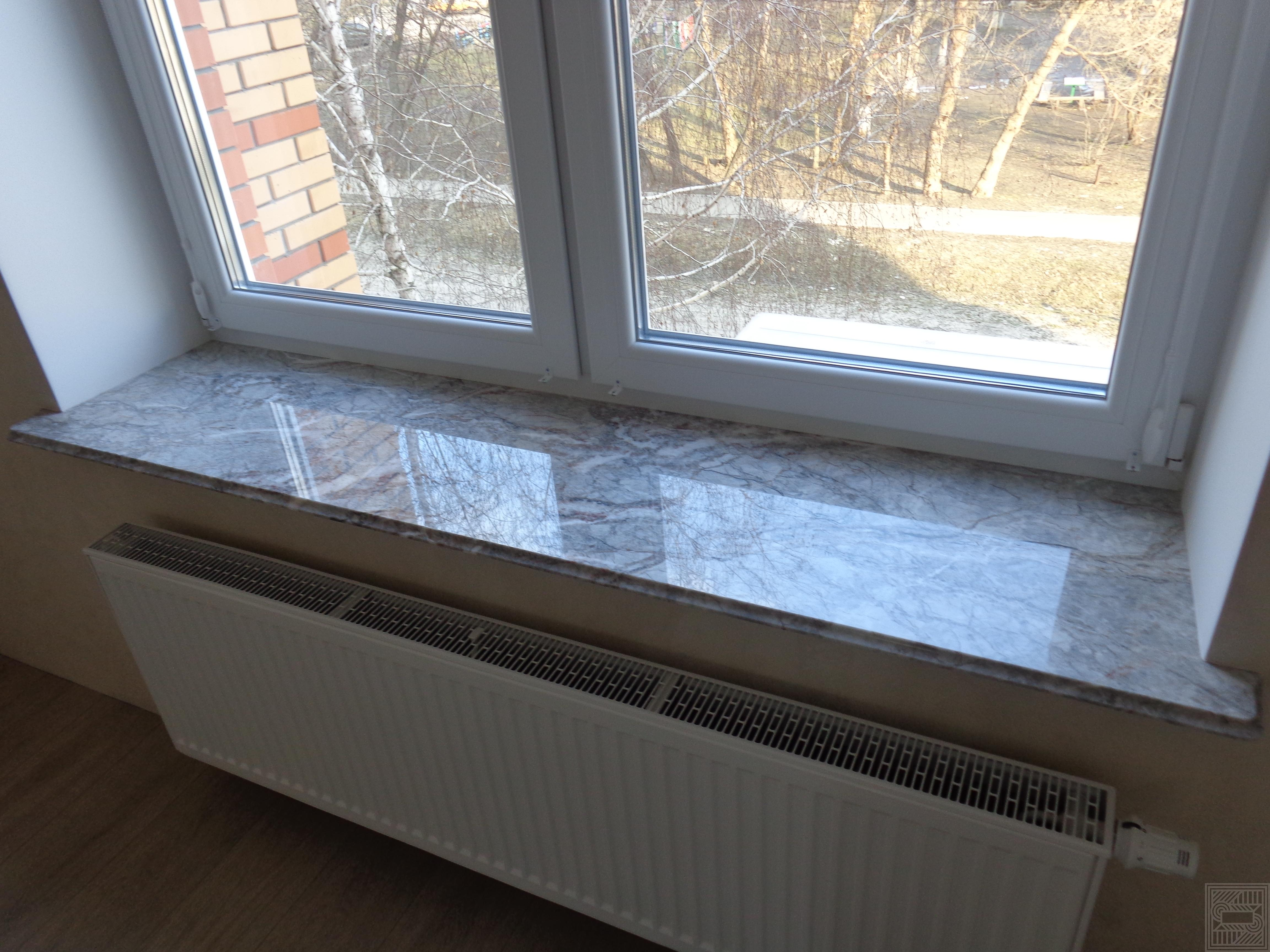 Подоконник из мрамора Fior di Pesco 20 мм windowsill-marble - Podokonnik iz mramora Fior di Pesco 20 mm