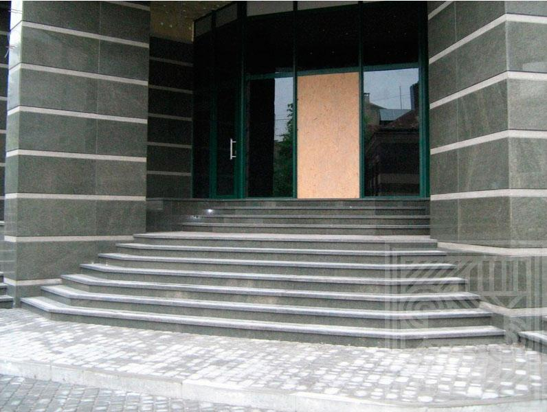 Лестница из гранита Green stair-granite - LARGE 33