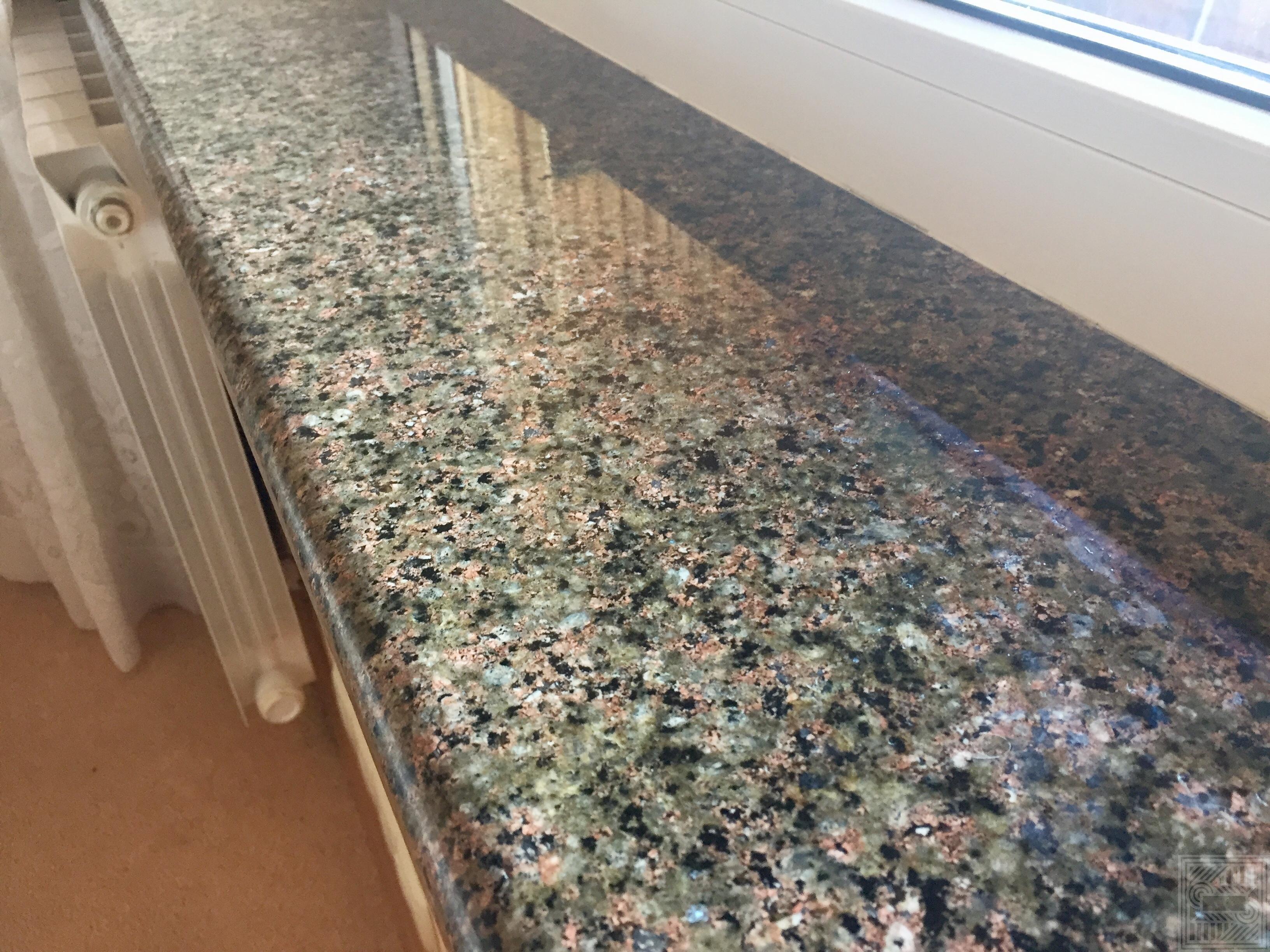 Подоконник из Васильевского гранита 30 мм windowsill-granite - 1