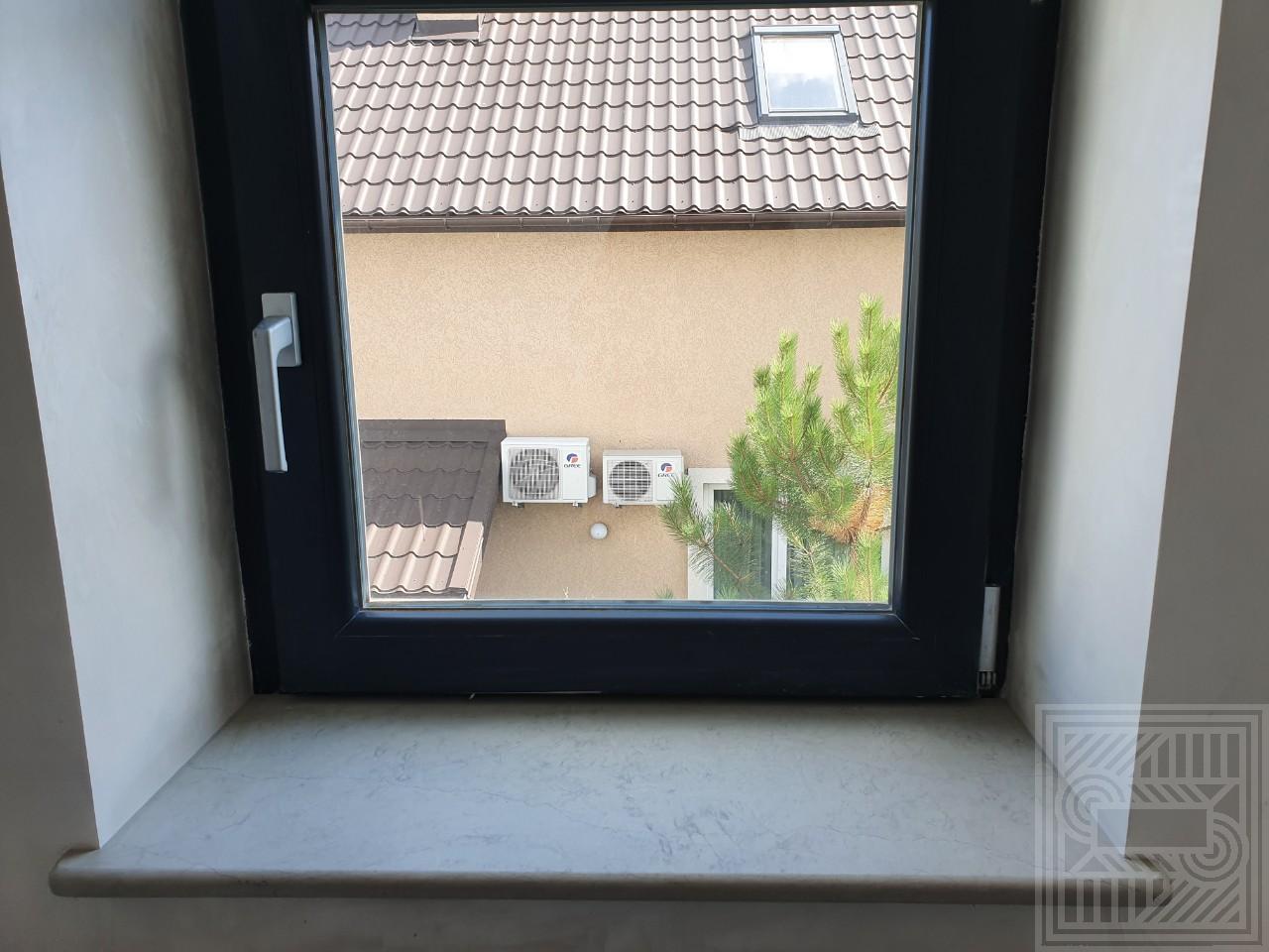 Подоконник из мрамора Thala Grey Royal в обработке Leather 20 мм windowsill-marble - IMG 57a61c9d2673f5246c75762a83b65186 V