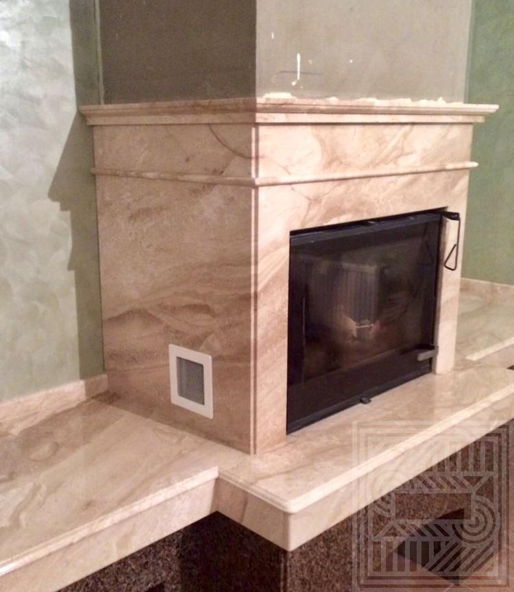 Камин из Межеричского гранита и мрамора Daino fireplace-granite - IMG 9665dbf7e3284a67d7a81a08f8569d2f V