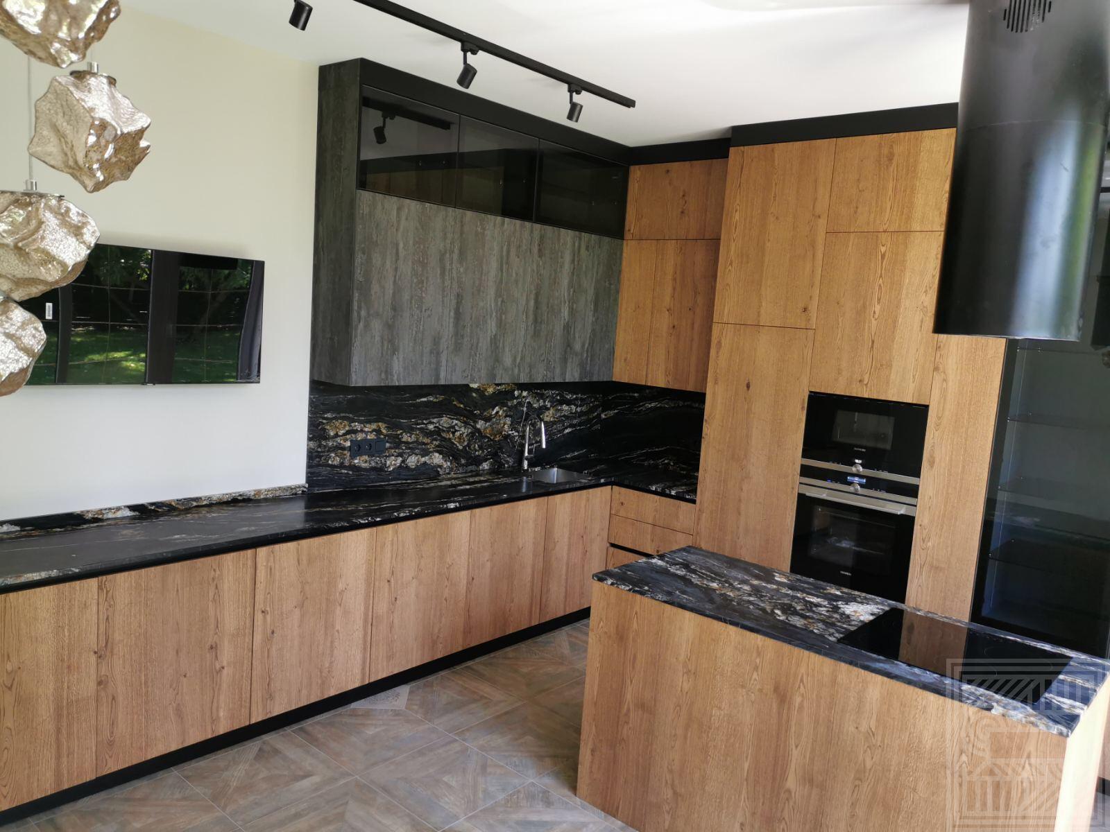 Кухонный комплекс из природного кварцита African Fugen 20 mm stoleshnitsy-iz-kvartsita - Kuhonnyj kompleks iz prirodnogo kvartsita African Fuugen 3 1