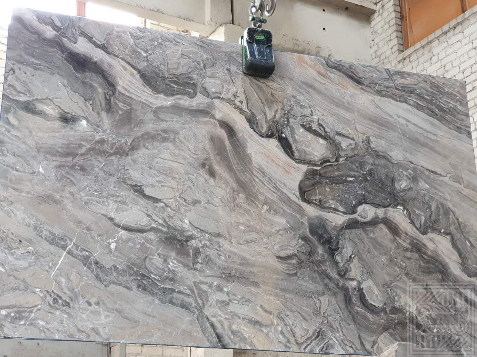 Arabescato Grigio (20 mm) colored-marble - Arabescato Grigio