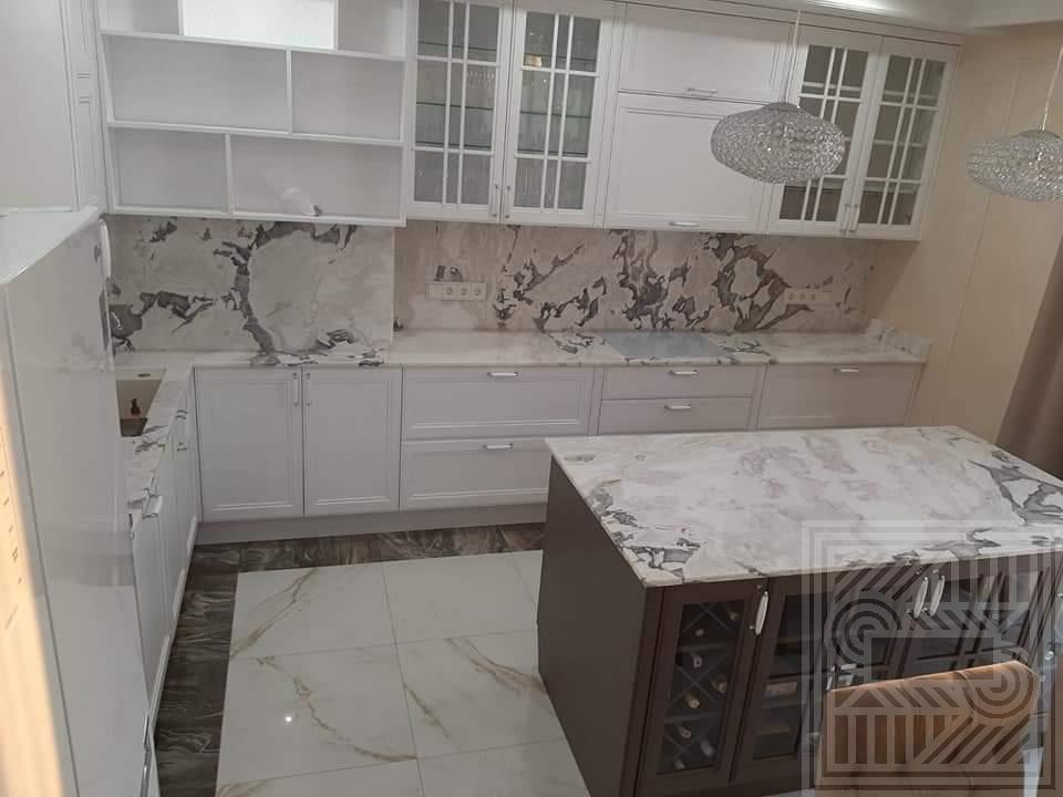 Кухонный комплекс из мрамора Caribbean Island desk, worktop-marble - kuhonnyj kompleks iz Caribbean 3